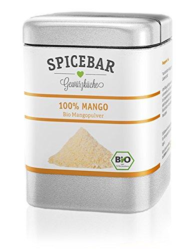 Mangopulver, Fruchtpulver gefriergetrocknet aus 100% Mango, Bio (1x 60g)