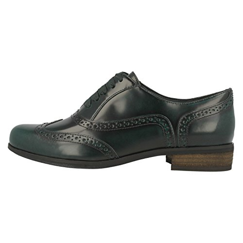 Clarks Damen Hamble Oak Derby Verde (Green)