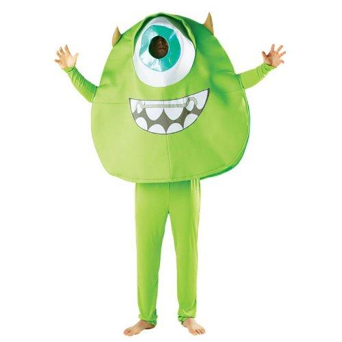 Disney Monster University Herren Kostüm Mike zu Karneval (Kostüme Für Erwachsene Monsters University)