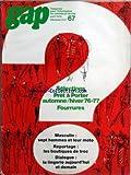 Telecharger Livres GAP No 67 du 01 04 1976 PRET A PORTER AUTOMNE HIVER FOURRURES MASCULIN 7 HOMMES ET LEUR MOTO LES BOUTIQUES DE TROC LA LINGERIE (PDF,EPUB,MOBI) gratuits en Francaise