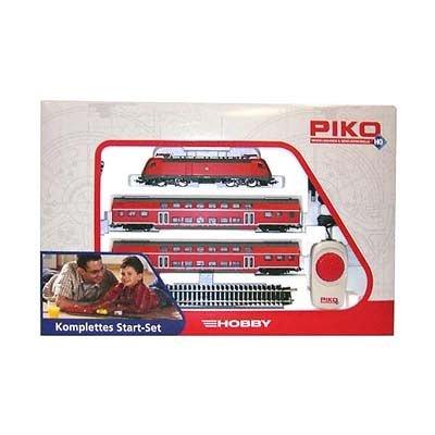 Piko 57171 - H0 Start-Set BR 182 Doppelstock-Personenzug