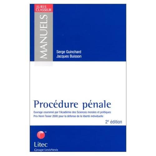 Procédure pénale 2002 (ancienne édition)