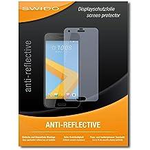 """2 x SWIDO® Pellicola Protettiva HTC One A9s Screen Protector Pellicola Protettiva Film """"AntiReflex"""" antiriflesso"""