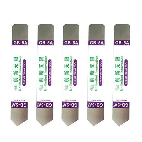 Hemobllo Edelstahlklinge dünne Brechstange-Telefon-Tabletten-Bildschirm-Öffnungs-Werkzeuge - Elektronik Tool Pry