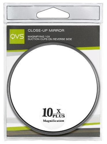 QVS Miroir grossissant 10 x avec ventouse