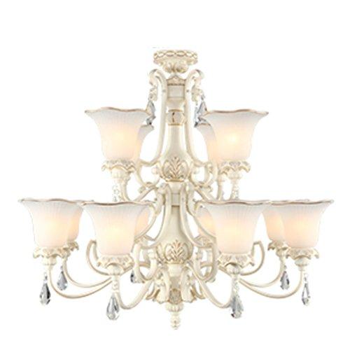 lampadari in stile europeo/ camera da letto luce da giardino/