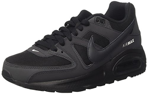 Nike Jungen Air Max Command Flex (GS) Sneaker, Schwarz (Black/Anthracite-White), 38 EU (Jungen Sneakers Gs)