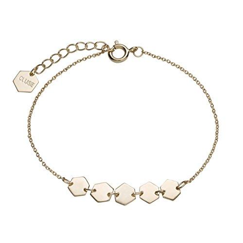 Cluse Damen-Kettenarmband Messing CLJ11007