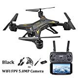 Little Fairy Fang KY601S Long Battery Life Folding Aerial Photo Drone Altitude Hold Four-Axis Aircraft WiFi Image Transmission Remote Control Aircraft with Built-in Battery