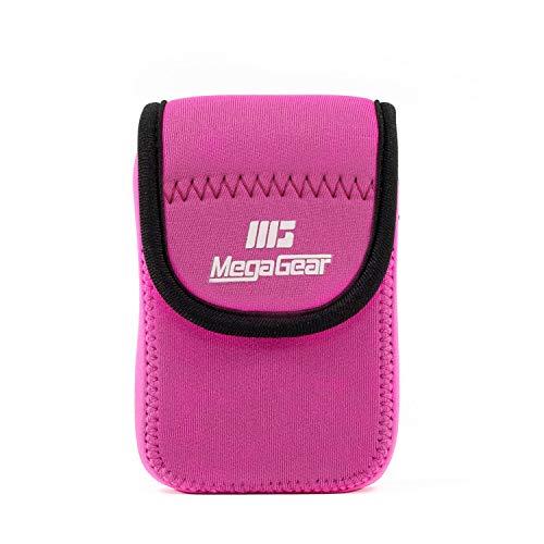MegaGear MG1279 Custodia per Fotocamera Nikon Coolpix W300, AW130, Ricoh WG-30W, WG-50, Rosa