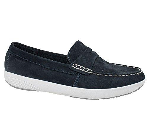 T-Shoes - Darwin TS007 - Chaussures en Nubuck Bleu