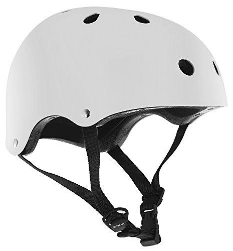 SFR Essentials Helmet Unisex Erwachsene Helm, weiß - (White), Gr. S/M (53-56cm)