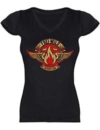 Frei.Wild - Opposition Retro Style Girlie-Shirt mit Rückendruck