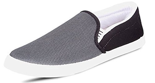 719bd968d7b46 Ethics Men's Combo Pack of 3 Silver, Yellow & Grey Casual Loafers Shoes for  Men's