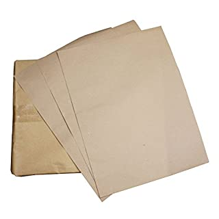 AllTrade Direct 200 x Disposable Floor Mats Brown Paper 90 GSM Workshop Valeting Protective Car