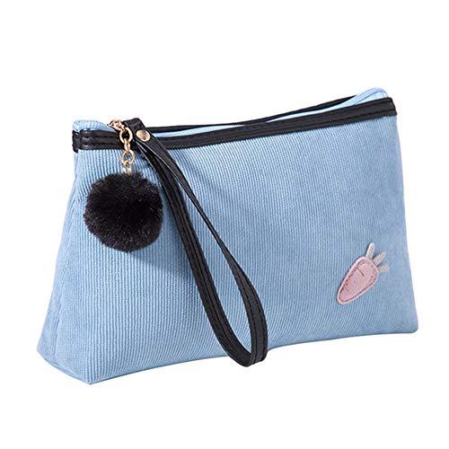 Trucco borsa da viaggio cosmetic bag rossetti liquido fondotinta lozione pennello bottiglia idratante acqua chiodi polacco organizer con cerniera