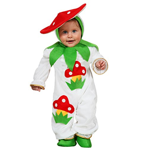 KARNEVALSKOSTÜME PILZ KLEID VERKLEIDUNG VON PEGASUS - 5046 - mehrfarben, mesi (Fliegenpilz Kostüm Baby)