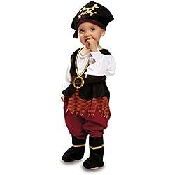 Disfraz de pirata para bebé, diferentes tallas.