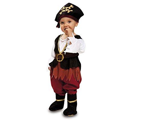 My Other Me - Disfraz de Pirata bebé para niña, talla 7-12 meses (Viving Costumes MOM00568)