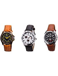 Watch Me Gift Combo Set Of Analog Watches For Men And Boys AWC-012-AWC-013-AWC-014 AWC-012-AWC-013-AWC-014omtbg