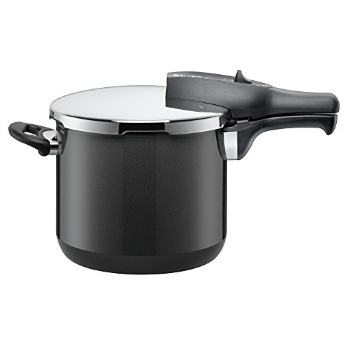 Silit Sicomatic® Classic Pressure Cooker 6.5L without Insert Ø 22 cm Grey Made in Germany Inside Scale Silargan® Functional Ceramic Suitable for Induction Hobs