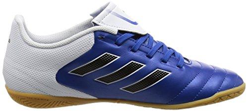 adidas Copa 17.4 In, Chaussures de Football Garçon bleu/blanc/noir