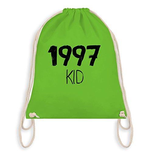 Compleanno - 1997 Kid - Borsa Da Palestra E Borsa Da Ginnastica Verde Chiaro