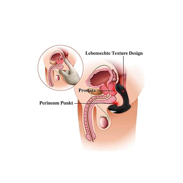 Fondlove Analvibrator Prostata Vibratoren Männer/Frauen
