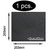 BuildTak Lámina para la cama de impresión, para impresora 3D, duradera, 203 x203 mm