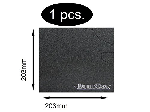 BuildTak 203x203 mm Druckbett-Beschichtung 3D-Drucker Dauerdruckplatte Offset-slicer