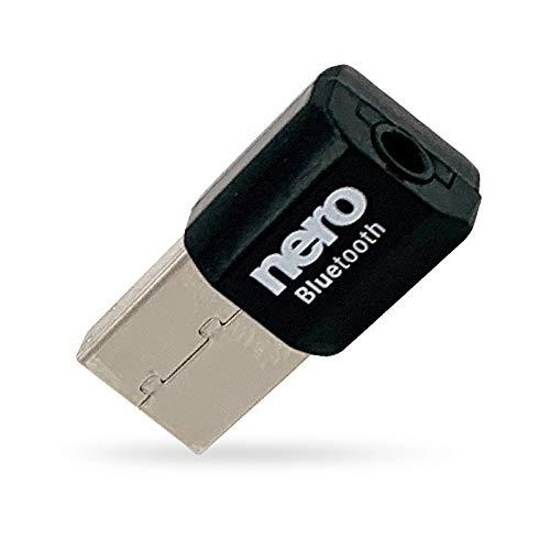 Nero Bluetooth 4.0 Audio AUX-Adapter (z.B. für KFZ/Auto, HiFi-Anlage, etc.)