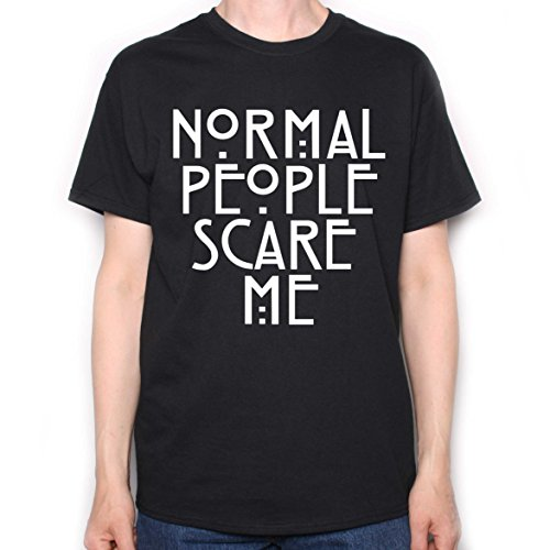 Normal People Scare Me T Shirt - An American Horror Classic Quote
