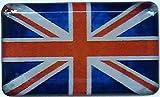 3D Doming Aufkleber Vintage Union Jack (2er-Set)
