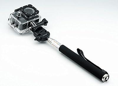 QUMOX Bastón Monopie Portátil Palos selfie extensible para Cámara deportiva SJCAM / QUMOX SJ4000 series SJ5000series