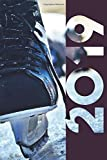 2019: Ice Skate Chic Organizer Diary daily weekly and monthly calendar planner for Hockey Player