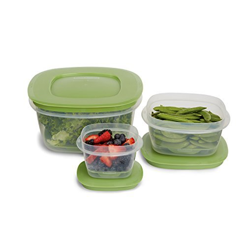 Rubbermaid Produce Saver Food Storage Container, 6-Piece Set by Rubbermaid