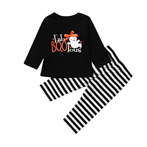 SUCES Bekleidung 2018 Jungen Mädchen Kinder Kleidung Langarm T-Shirt Set Freizeit Outfits Kinder Jungen Baby Gentry Formaler Party Taufe Hochzeit Smoking Bogen Anzüge Sakkos (Schwarz2,80)