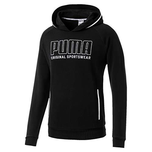 Puma Herren Athletics TR Pullover, Cotton Black, XL (Puma-athletic-schuhe)