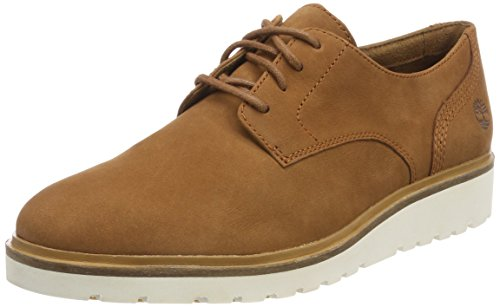 Timberland Damen Ellis Street Lace-up Oxfords, Braun (Saddle F13), 37 EU