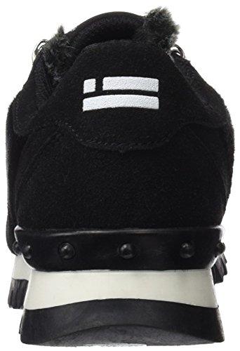 D. Franklin Damen Sneaker Hik19305 Hohe Hausschuhe Schwarz (Negro)