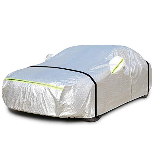 Golf Toyota Voiture De Voiture Argent Couverture De Voiture Couverture Solaire Protection Contre La Pluie Coupe-vent Coupe-vent Sécurité Vêtements De Voiture (Couleur : Silver-GOLF 4)