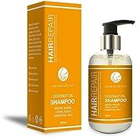 Hairworthy Hairrepair Coconut Oil Shampoo - BIOTIN, NIACIN, ÁCIDO CÍTRICO Y ACEITES ESENCIALES