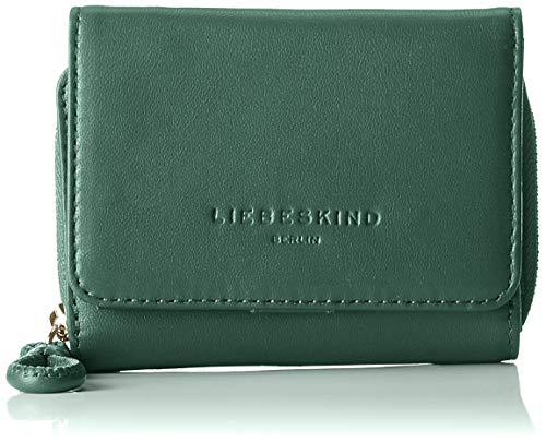 Liebeskind Berlin Damen Drawstring Pablita Wallet Medium Geldbörse, Grün (Dark Green), 3.0x9.0x12.0 cm -