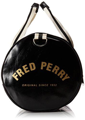 Borsa Da Uomo Classica Nera Per Borsa Da Uomo Fred Perry