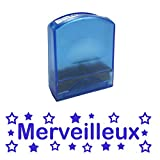 Merveilleux Self-inking, Reinkable Low Cost French Teacher Stamp