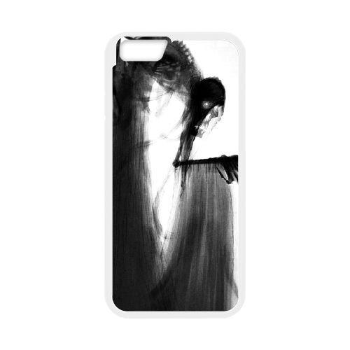 Deathly Hallows coque iPhone 6 4.7 Inch Housse Blanc téléphone portable couverture de cas coque EBDXJKNBO11156