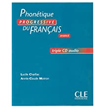 Phonétique progressive du français avancé - Triple CD audio