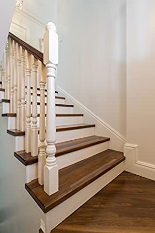 Non-Slip Strips Kara Grip Pro Internal Stairs 18.3 lfm Reel 3cm Transparent, Even For Dog and Child. Instead of Mats Or Stair Carpet To Prevent Slipping, Stocking-Friendly Self-Adhesive Wood Tiles Granite And Marble Stairs