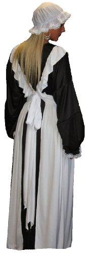Traditioneller, viktorianischer Stil, Vintage, für Trauzeugin/Maid Pinafore-Kleid und Hut, ()