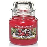 Yankee Candle bougie petite jarre, «Framboise rouge»